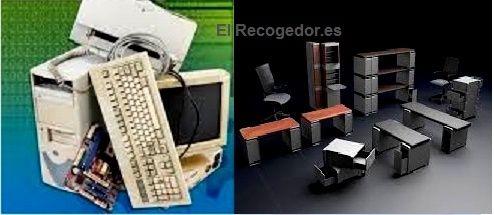Recogida de ordenadores y muebles de oficina for Recogida de muebles gratis